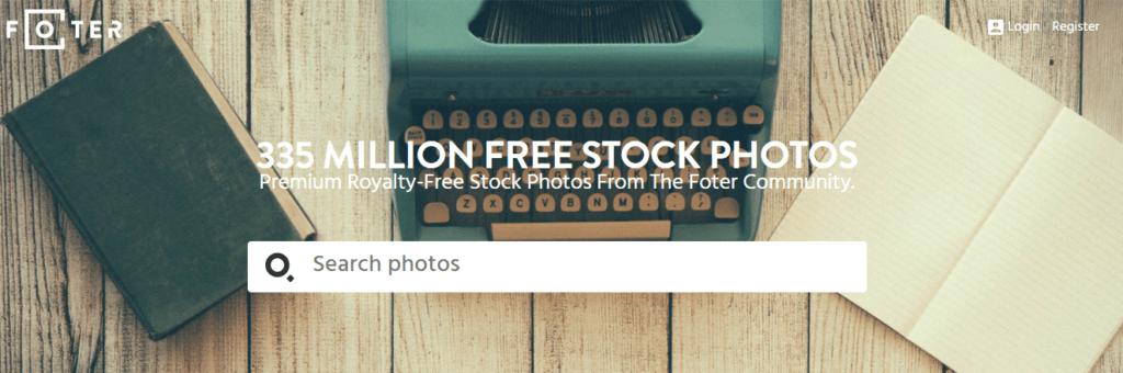 foter bancos de imágenes gratuitos