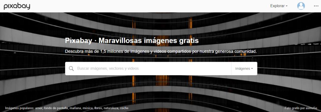 pixabay bancos de imágenes gratuitos