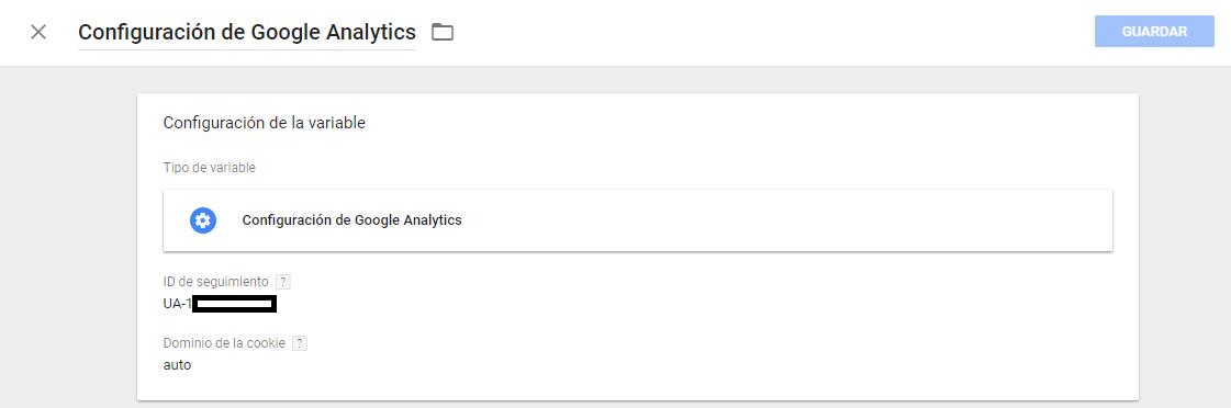 configurar google analytics con google tag manager