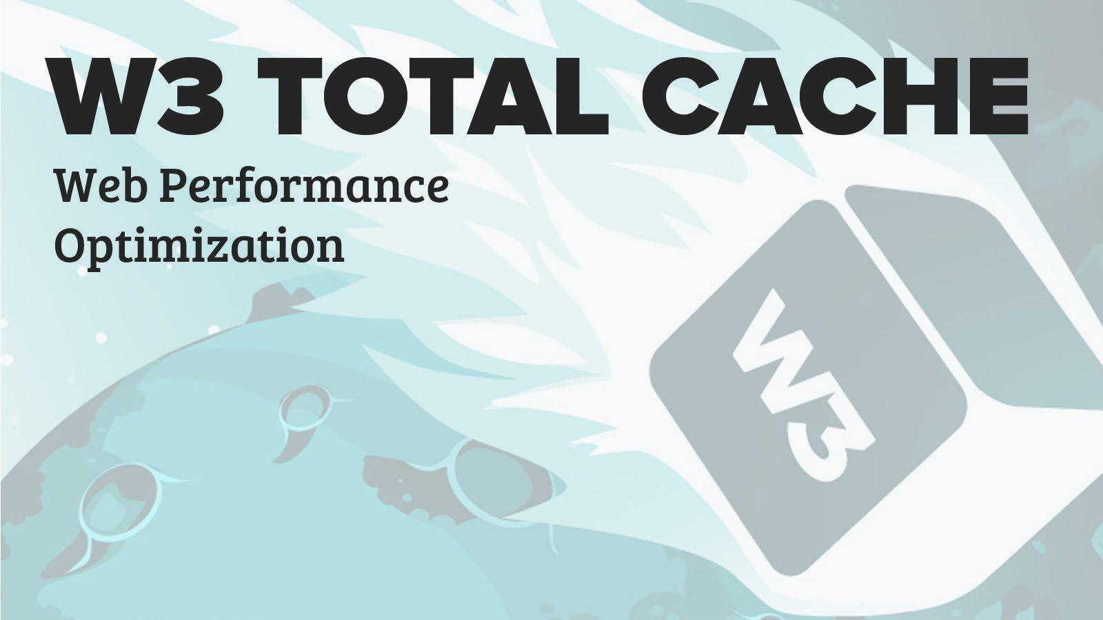 Los mejores plugins de wordpress para optimizar la caché wp total cache