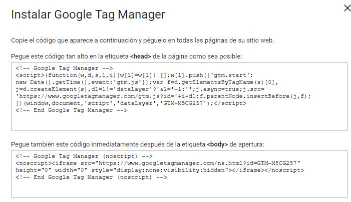 script google tag manager